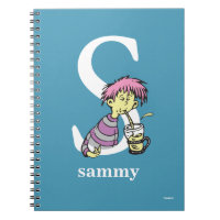 Dr. Seuss's ABC: Letter S - White | Add Your Name Spiral Notebook