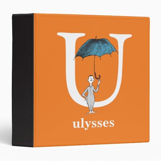 Dr. Seuss's ABC: Letter U - White