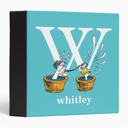 Dr. Seuss's ABC: Letter W - White