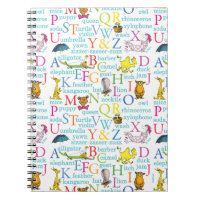 Dr. Seuss's ABC Pattern with Words Notebook