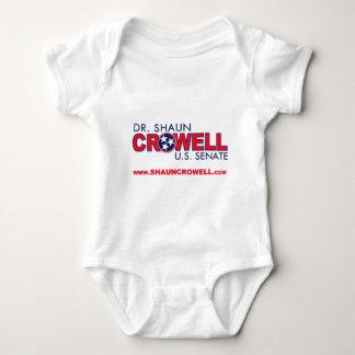 Dr. Shaun Crowell for U.S. Senate Baby Bodysuit
