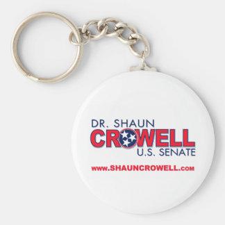Dr. Shaun Crowell for U.S. Senate Keychain