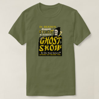 Dr Silkini Ghost Show Spook Show T-shirt