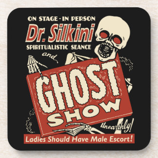 Dr Silkini Vintage Spook Show - Set of 6 Coasters