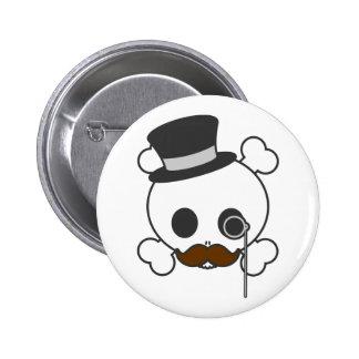 Dr Skully 2 Inch Round Button