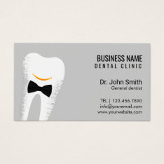 Dr. Smile Dentist Dental Clinic Appointment Business Card at Zazzle
