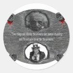 Dr.Stein Round Sticker