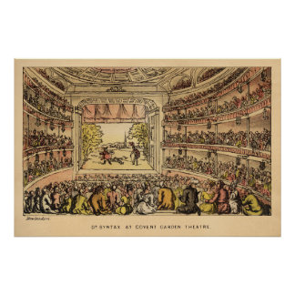Dr. Syntax at Covent Garden Theatre Poster