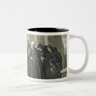 Dr Syntax at the Funeral of his Wife, from 'The To Two-Tone Coffee Mug