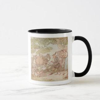 Dr. Syntax sketching after nature Mug
