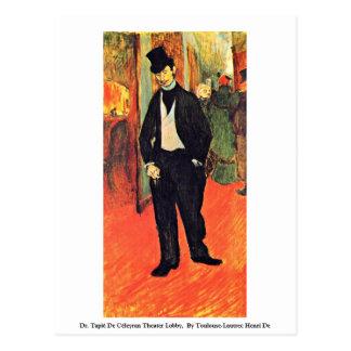 Dr. Tapié De Céleyran Theater Lobby, Postcards
