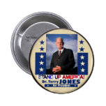 Dr. Terry Jones for President 2012 Button