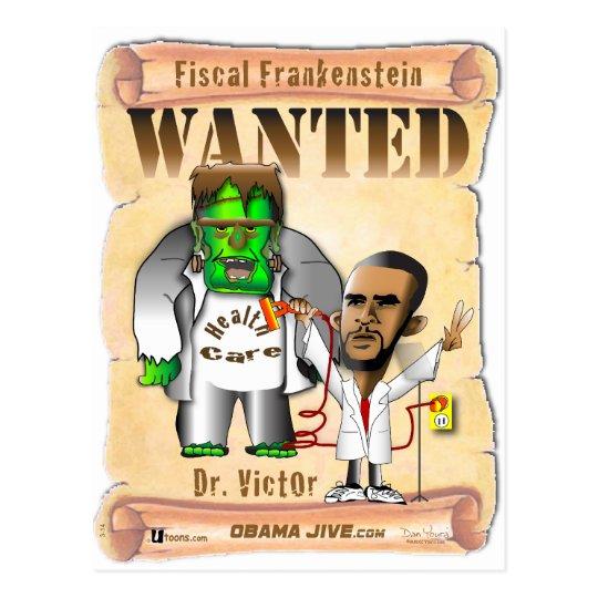 Dr. Victor O Frankenstein Postcard