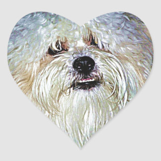 Dr Watson Heart Sticker