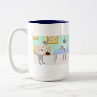 Dr. Weimmer Two-Tone Coffee Mug