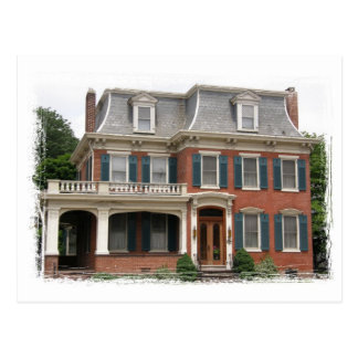 """""""Dr. Wolfe House"""" Postcard"""