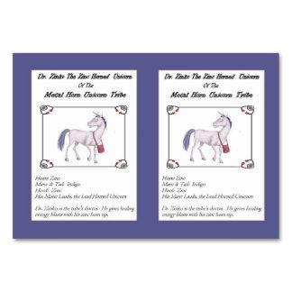 Dr. Zinko The Zinc-Horned Unicorn Trading Card