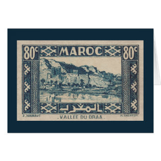 Draa Valley, Morocco - Card