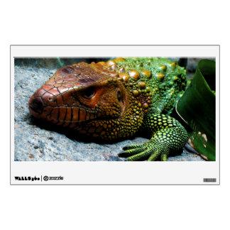 Dracaena septentrional Guianensis del lagarto de C Vinilo Adhesivo