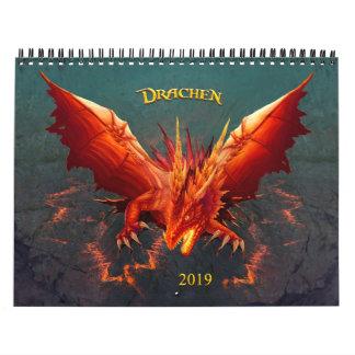 Dragon calendar, Dragon Calendar, (28cm x 22cm) Calendar