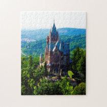 Drachenfelsen Castle Germany. Jigsaw Puzzle