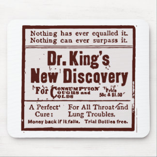 Drachma kings ad old mouse pad