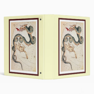 Draco and Ursa Minor 3 Ring Binder