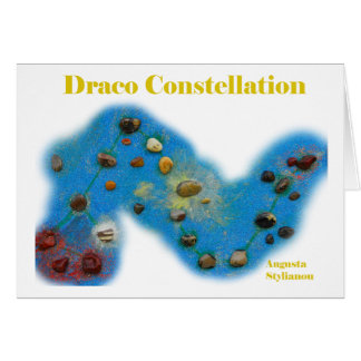 Draco Constellation Card