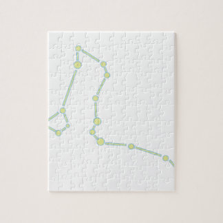 Draco Constellation Jigsaw Puzzle