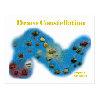 Draco Constellation Postcards