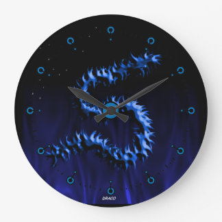 Draco Dragon Large Clock