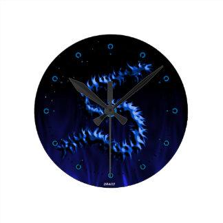 Draco Dragon Medium Clock