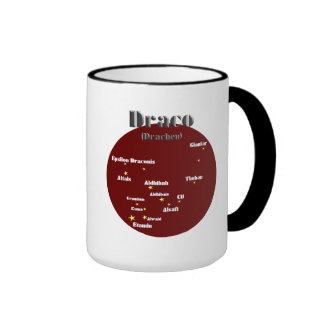 draco dunkelrot tazas de café