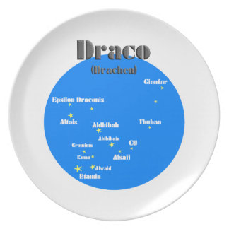 draco light blue dinner plate