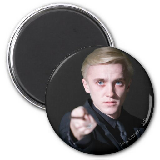 Draco Malfoy 2 2 Inch Round Magnet