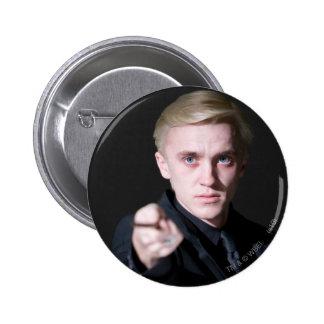 Draco Malfoy 2 Pin Redondo De 2 Pulgadas
