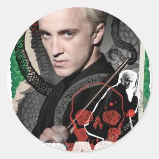 Draco Malfoy 6 Classic Round Sticker