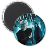 Draco Malfoy and Snape 1 2 Inch Round Magnet