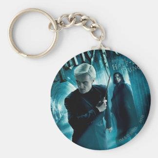 Draco Malfoy and Snape 1 Keychain