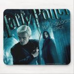 Draco Malfoy and Snape 1 Mouse Pads