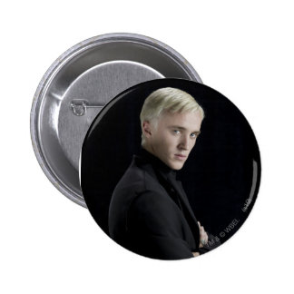 Draco Malfoy Arms Crossed Button
