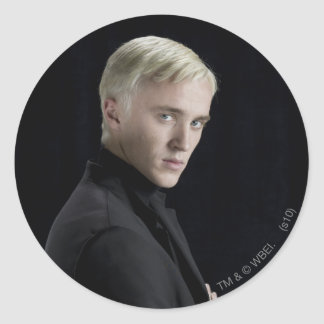 Draco Malfoy Arms Crossed Round Stickers