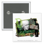 Draco Malfoy Collage 1 2 Inch Square Button
