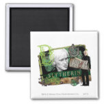 Draco Malfoy Collage 1 2 Inch Square Magnet