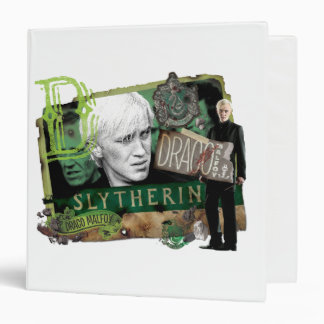 Draco Malfoy Collage 1 3 Ring Binder