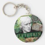 Draco Malfoy Collage 1 Basic Round Button Keychain