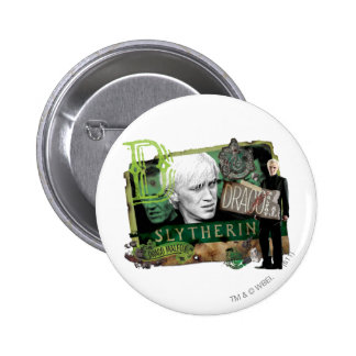 Draco Malfoy Collage 1 Button