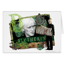 Draco Malfoy Collage 1 Card