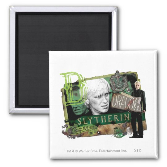 Draco Malfoy Collage 1 Magnet