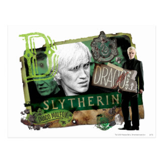 Draco Malfoy Collage 1 Postcard